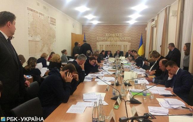 Профильный комитет Рады принял решение по бюджету-2019