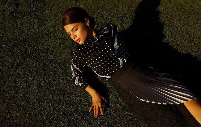 Michelle Andrade стала лицом совместной коллекции MUST HAVE и LITKOVSKAYA