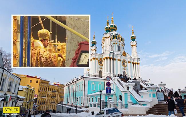 Молитви російською мовою? Служба Вселенського патріархату в Києві обурила мережу