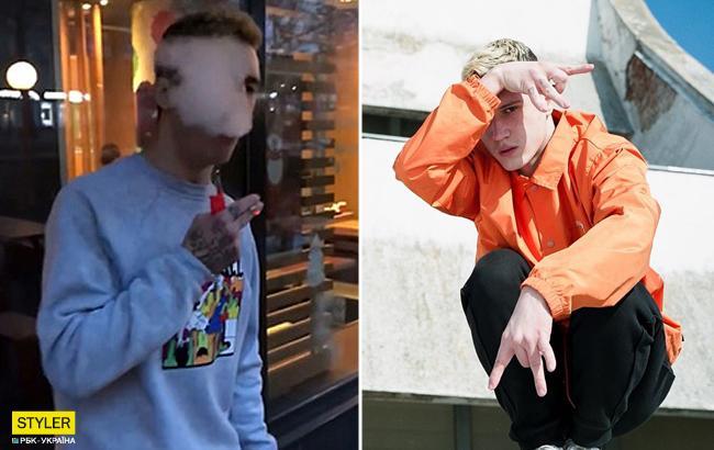 В Николаеве парень употребил наркотик прямо в горсовете (видео)