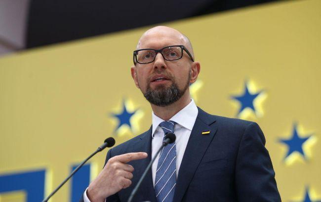 Яценюк заявил, что не будет баллотироваться в президенты