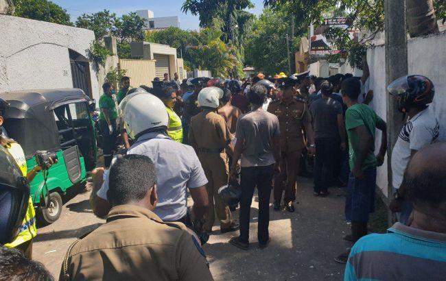 На Шрі-Ланці пролунав восьмий за день вибух