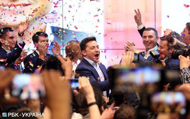 Зеленский объявил о победе на выборах