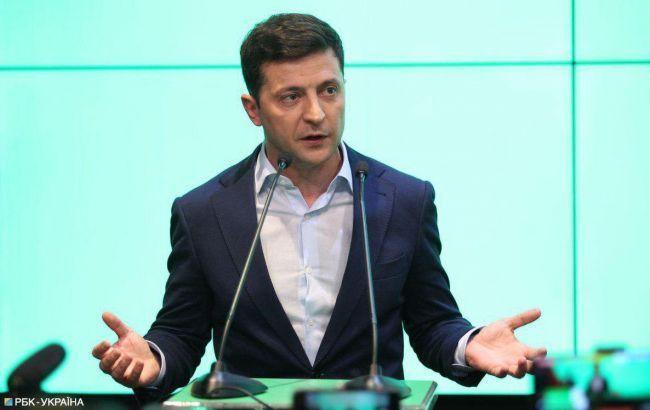 Зеленський розпочав інавгураційну промову