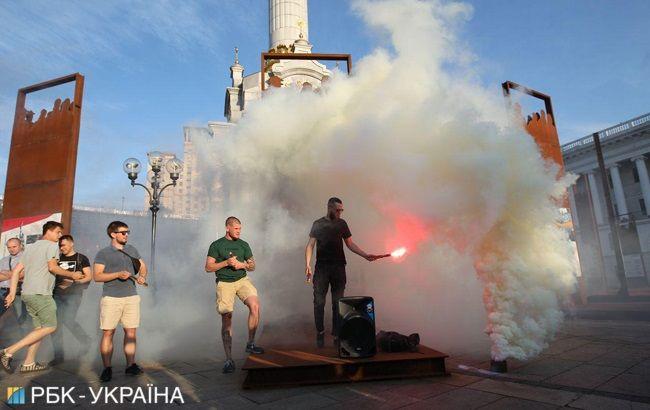 На Майдані почалася акція через рішення ЦВК