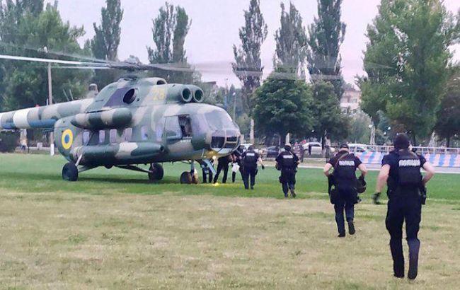 В Покровск направили вертолет с группой спецназначения Нацполиции