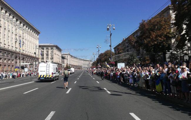 День Независимости на Майдане: гимн Украины под рэп взорвал соцсети