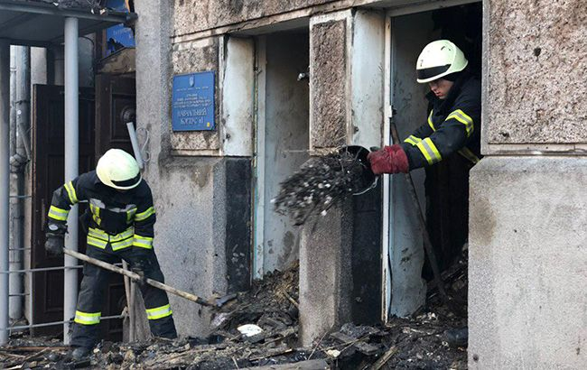 Пожару в Одессе присвоили статус ЧС регионального уровня
