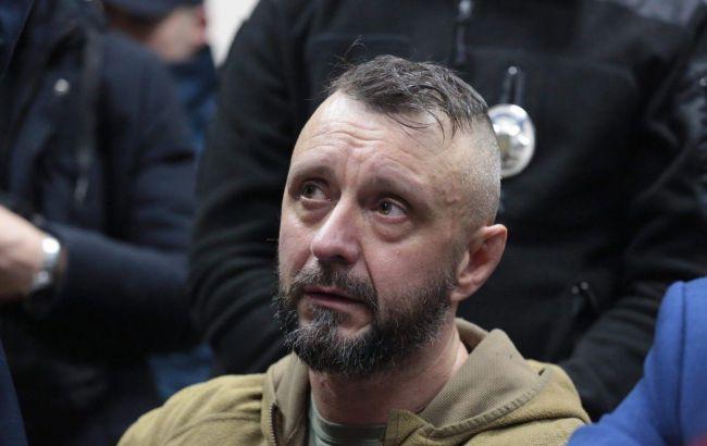 Суд арестовал Антоненко