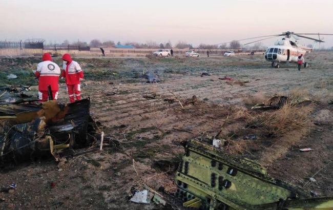 Крушение украинского самолета в Иране: погибли все пассажиры и экипаж