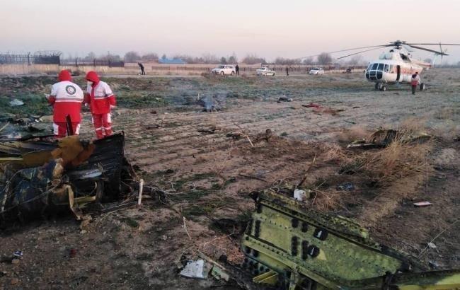 СБУ розглядає 2 версії аварії літака МАУ в Ірані