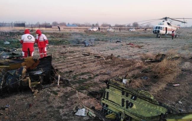 В Германии выразили соболезнования в связи с крушение украинского самолета