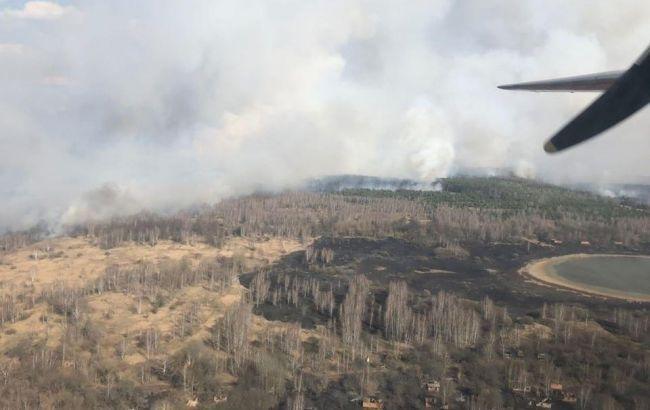 Пожежа у Чорнобильській зоні: поліція відкрила справу