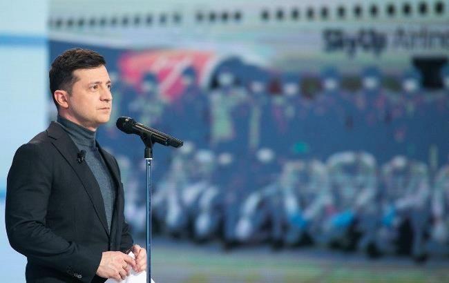 Зеленский у Шустера: о чем говорил президент