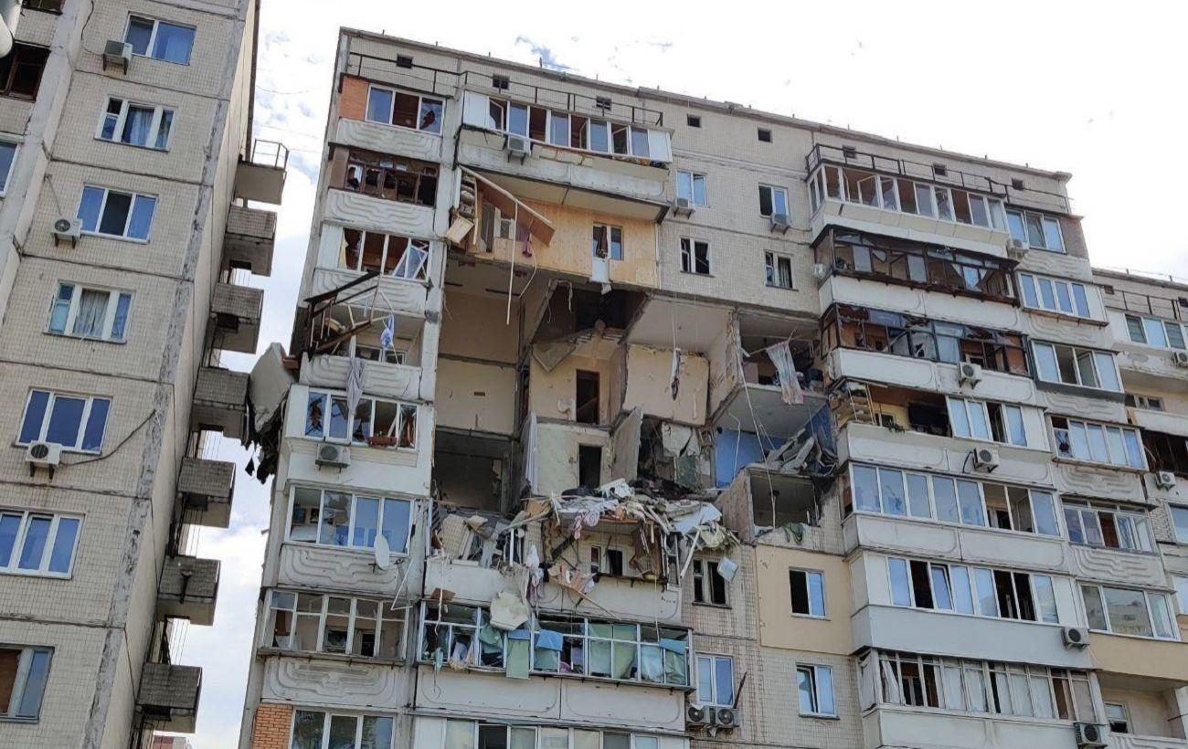 Вибух житлового будинку в Києві: що відомо