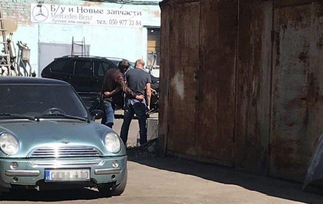 Автоугонщика из Полтавы ищут с помощью квадрокоптера