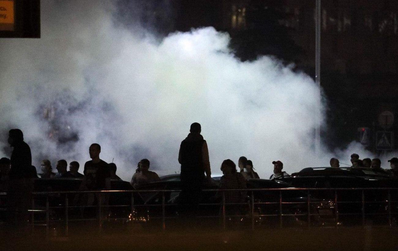 В Минске от взрыва погиб протестующий