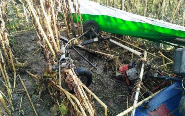 У Житомирській області розбився дельтаплан, є загиблий