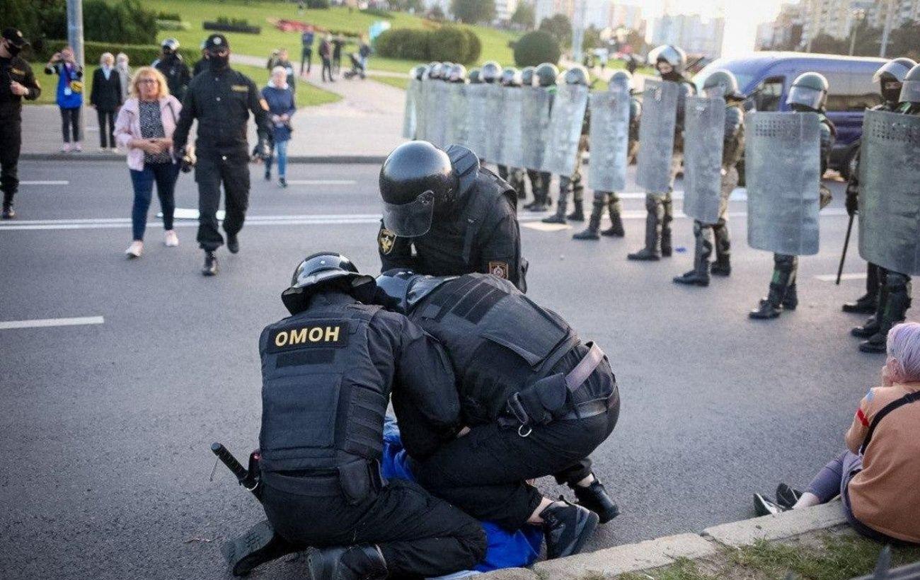 В Минске задержали более 10 протестующих, - милиция