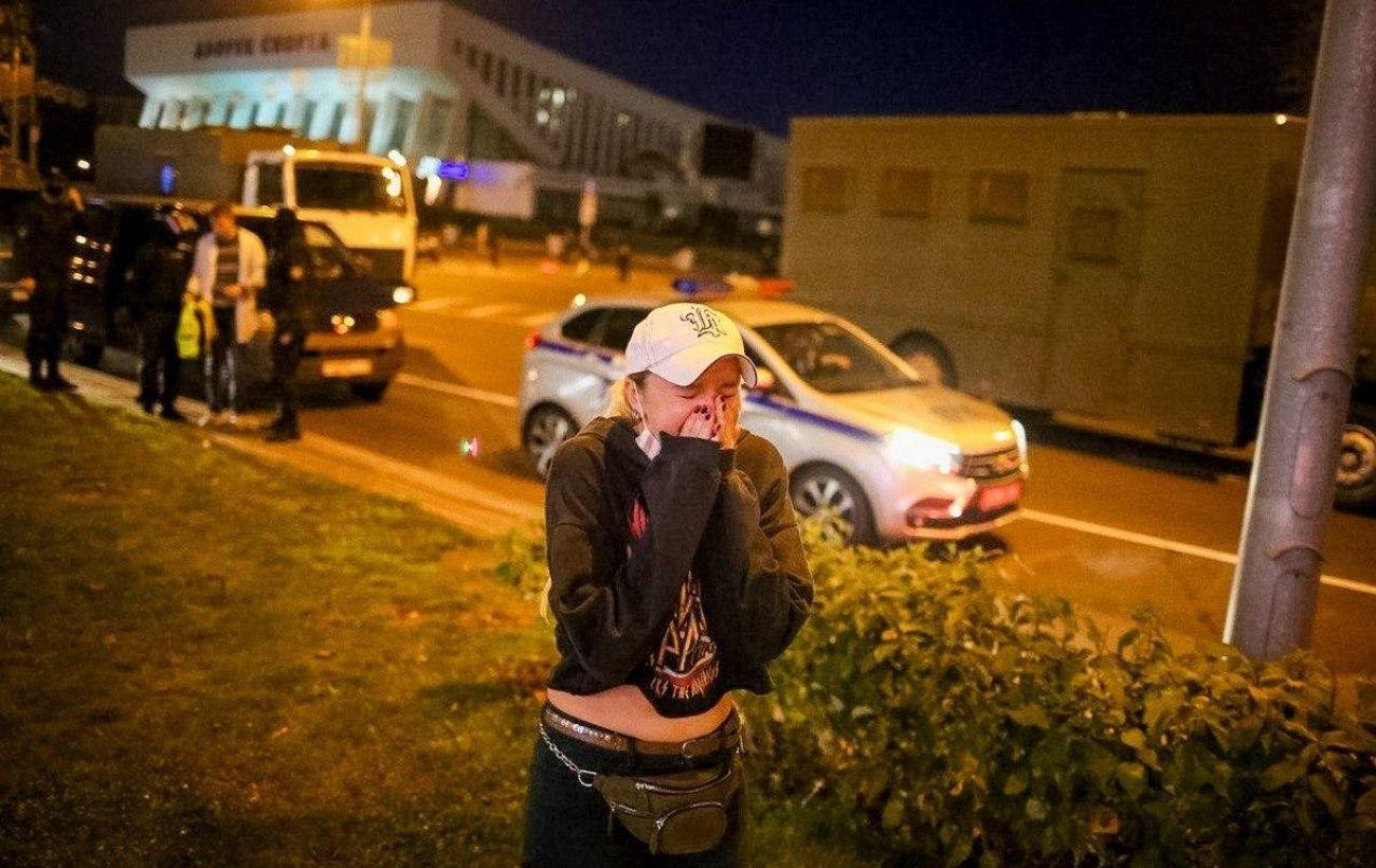 """Протесты в Минске: на """"Немиге"""" слышны выстрелы"""