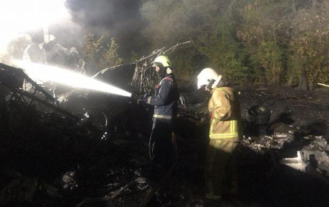 Авіакатастрофа під Харковом: пілот повідомляв про відмову лівого двигуна