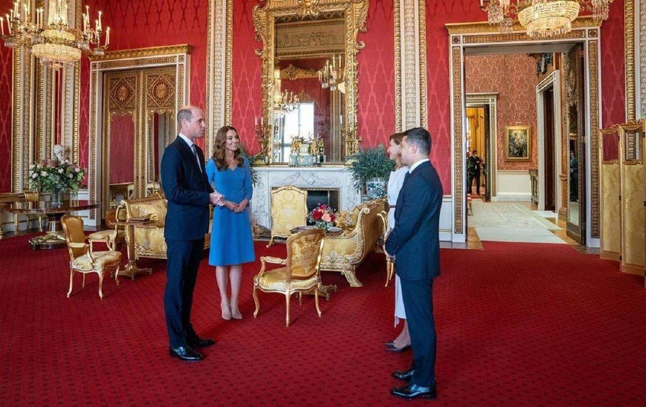 Фото Кейт Миддлтон и принца Уильяма с Зеленскими озадачило сеть | РБК Украина
