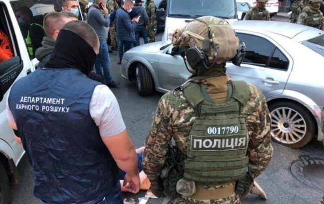 Задержание в центре Киева: появились подробности