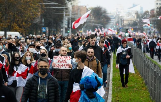 У Білорусі вчора затримали понад 500 учасників протесту