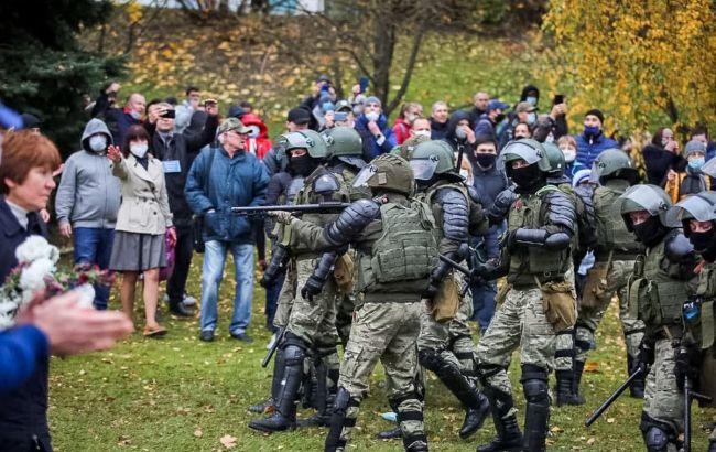 Протесты в Беларуси: известно о более сотни задержанных
