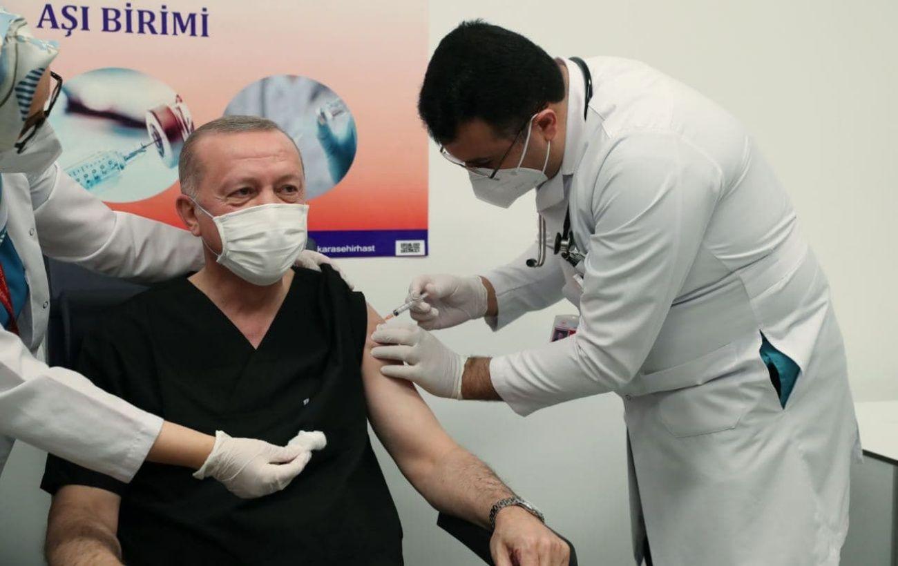 Эрдоган получил первую прививку от коронавируса photo
