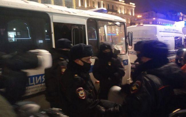 В России начались протесты в поддержку Навального, есть первые задержанные