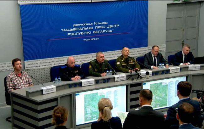 В Беларуси на брифинг МИД привели арестованного Протасевича