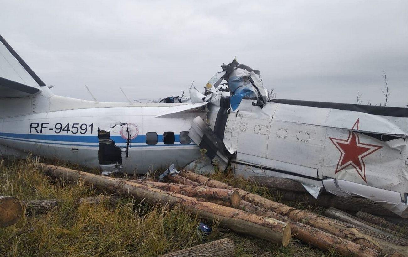 В России разбился самолет с парашютистами. Погибли 19 человек