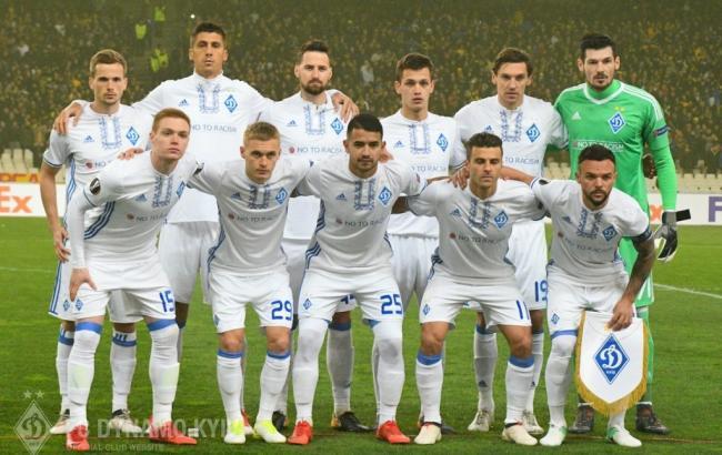 «Динамо» і «Лаціо» зіграли внічию вматчі Ліги Європи