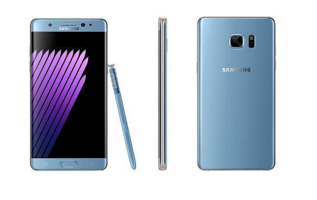 Фото: Samsung возобновит продажи Galaxy Note 7 1 октября
