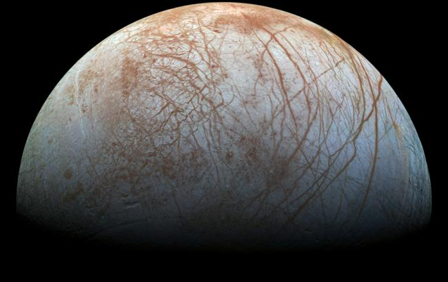 Фото: Спутник Юпитера Европа (nasa.gov)