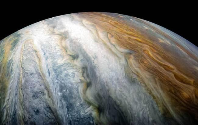 Фото: Юпітер (NASA/JPL-Caltech/SwRI/MSSS/Kevin M. Gill)