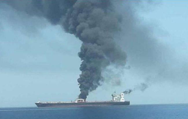 Ціни на нафту зростають після атаки на танкери в Оманській затоці