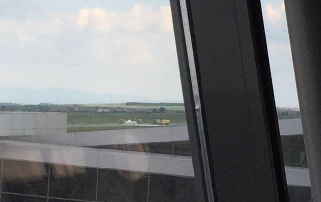 Вертоліт місії ЄС впав в аеропорту Косово, є поранені