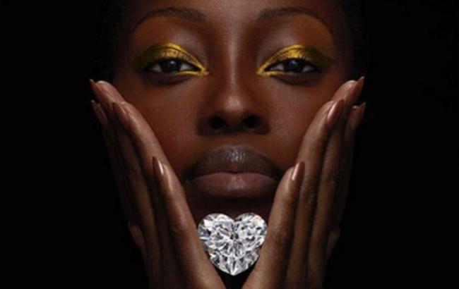 Фото: Діамант у формі серця (Graff/@graffdiamonds)