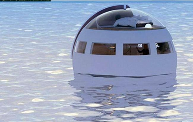 В Японии построят отель на воде в форме капсулы