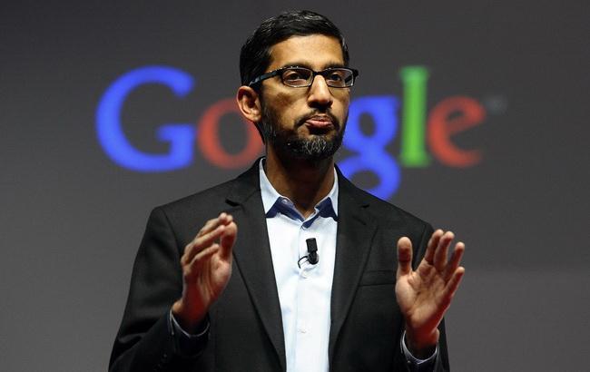 Фото: топ-менеджер Google Сундар Пічаі (© AP Photo)