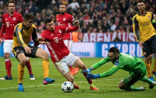 Арсенал - Баварія: онлайн-трансляція