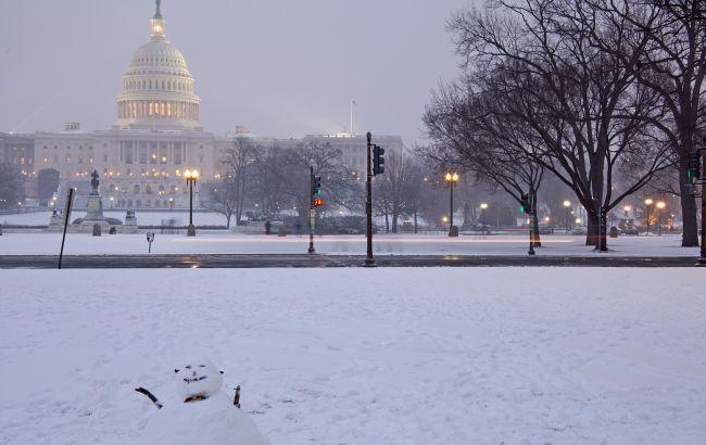 Фото: на восточное побережье США надвигается снежная буря