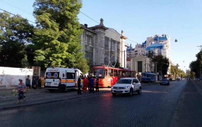 Фото: в Одессе произошла стрельба в трамвае