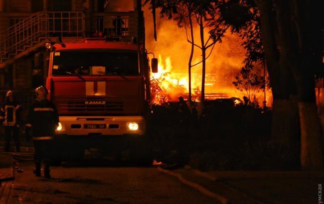 В Одесі горів дитячий табір, загинуло двоє дітей