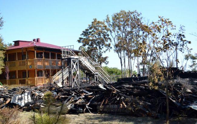 ВОдесі сталася пожежа натериторії дитячого табору Вікторія