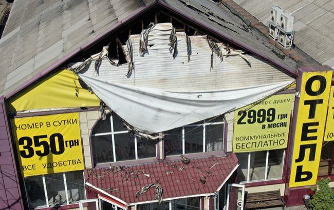 Пожар в гостинице Одессы: что произошло