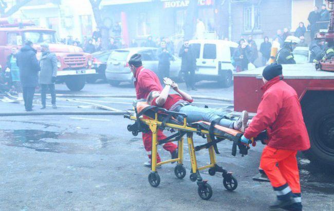 Кількість постраждалих внаслідок пожежі в Одесі наближається до 20