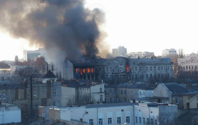 В Одессе сообщили о 15 пропавших в результате пожара